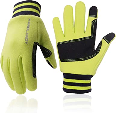 Boys Girls Touchscreen Sports Cycling Warm Gloves for Children 2-13 Years Kids Winter Gloves