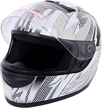Pink Flip Up Full Face Motorcycle Street Bike Helmet Dot Unisex Adult Size XL