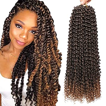 Amazon Com 14 Inch Passion Twist Hair 6 Packs Water Wave