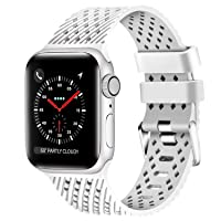 Deals on Lwsengme Compatible with Apple Watch Band 38mm - 44mm