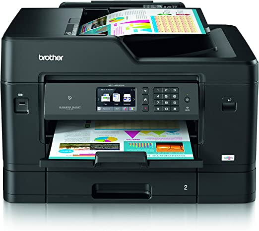 Brother MFCJ6930DWG1 - Impresora color multifunción, negro: Amazon.es: Informática