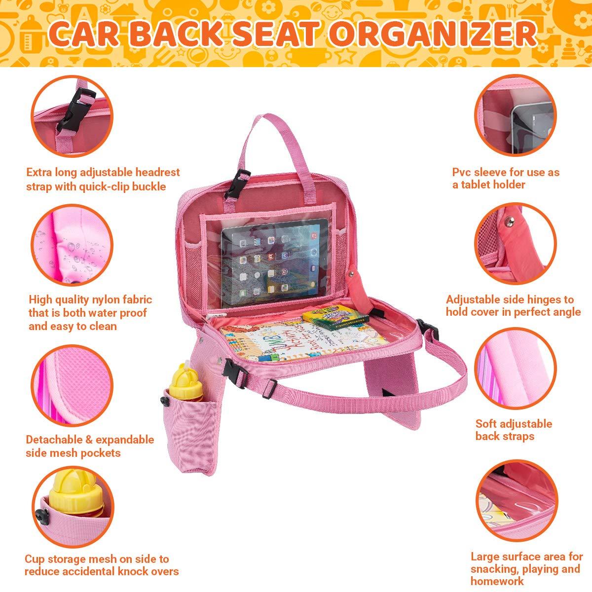 Bandeja de asiento de coche para niños con pasador de ...
