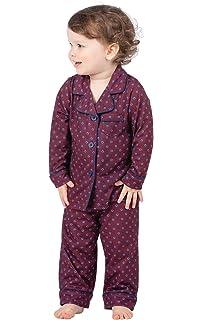 e7a04f086bd5 Amazon.com  PajamaGram Toddlers  Flannel Classic Plaid Pajamas with ...