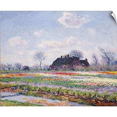 Kitchen Art Leiden.Amazon Com Canvas On Demand Claude Monet Wall Peel Wall Art Print