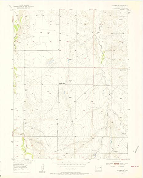 Se Colorado Map.Amazon Com Yellowmaps Leader Se Co Topo Map 1 24000 Scale 7 5 X