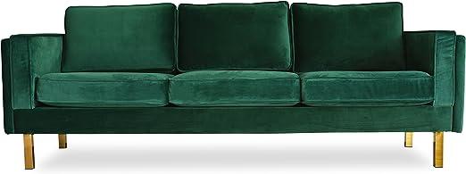 Edloe Finch Lexington Sofas, Green Velvet
