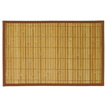 Freelance Bamboo Table Mats, Kitchen U0026 Dining Placemats, Set Of 6 Pcs, 30