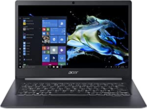 "Acer TravelMate X5 Thin & Light Business Laptop, 14"" FHD IPS Touch, Intel Core i5-8265U, 8GB DDR4, 256GB SSD, 10 Hrs Battery, Win 10 Pro, TMP 2.0, Fingerprint Reader, TMX514-51T-56W8"