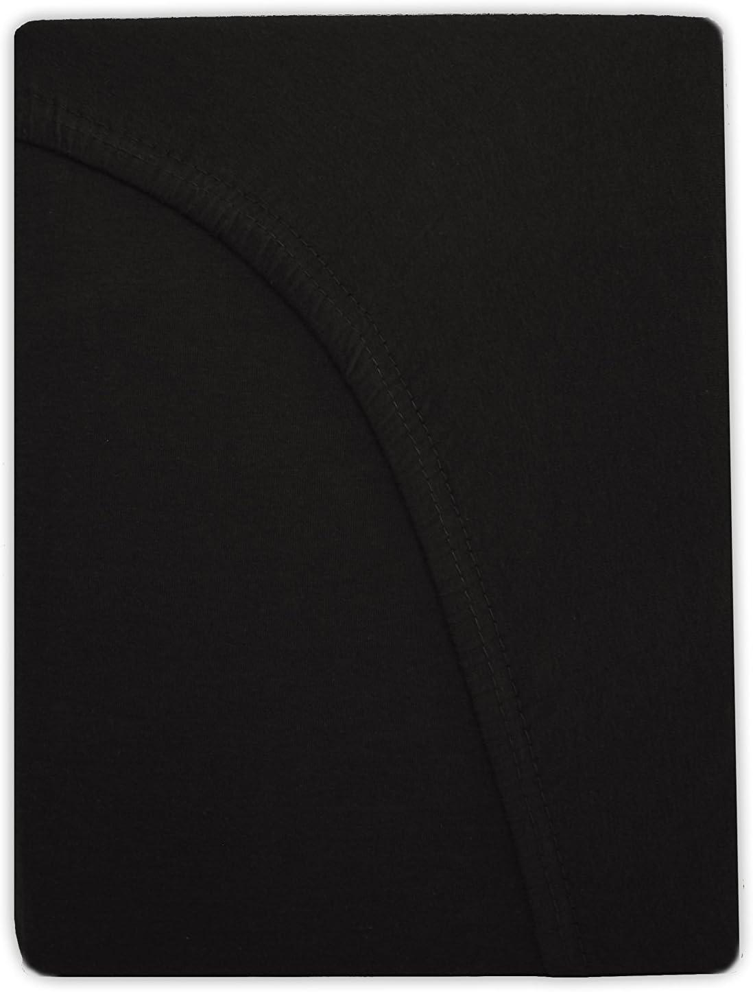 Flieder//Lavendel 100 /% coton 40 cm de hauteur Niceprice Drap-housse en jersey 200 x 220 200 x 220 cm
