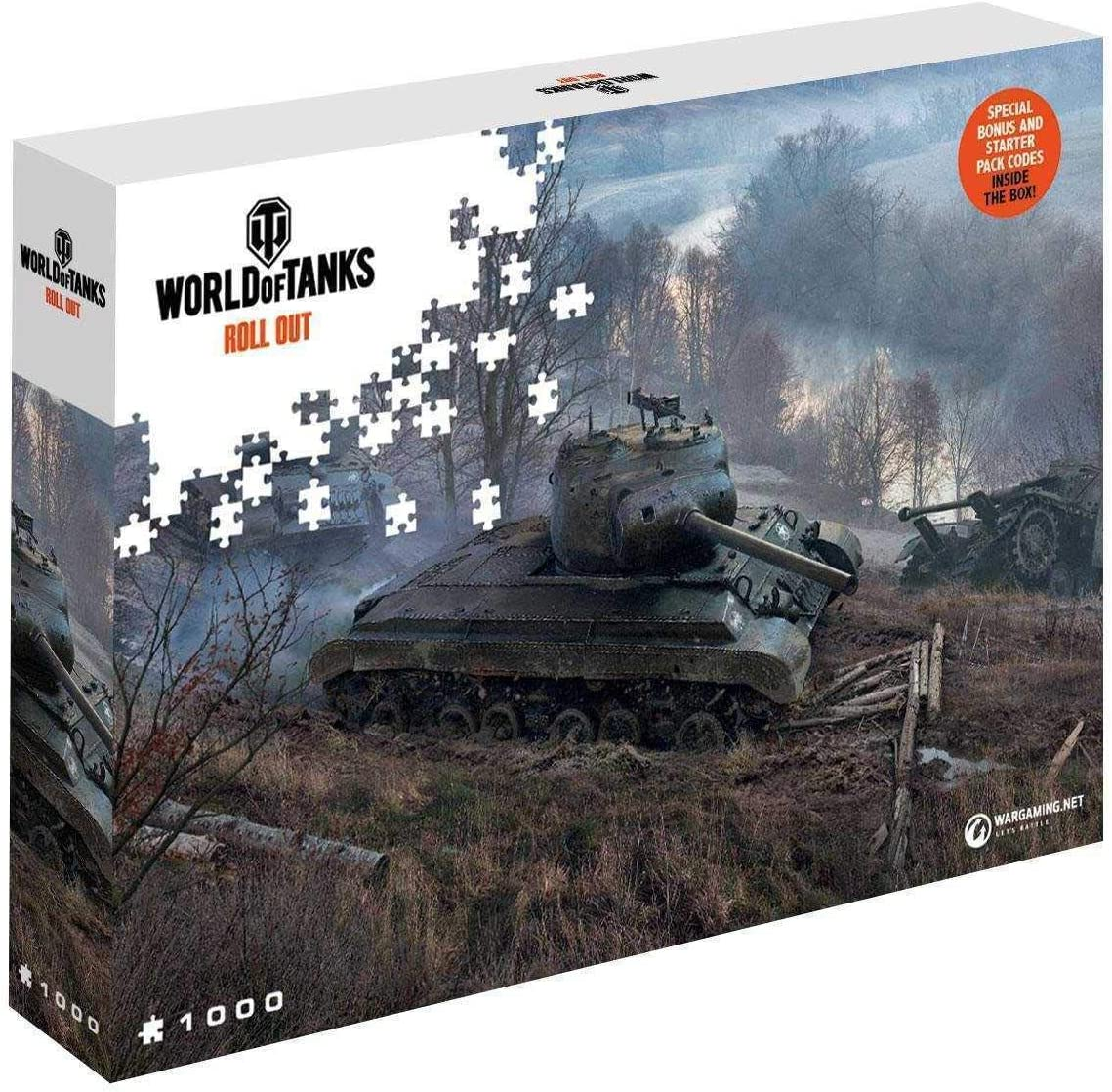 World of Tanks Jigsaw Puzzle On the Prowl (1000 pieces) Merlin ...
