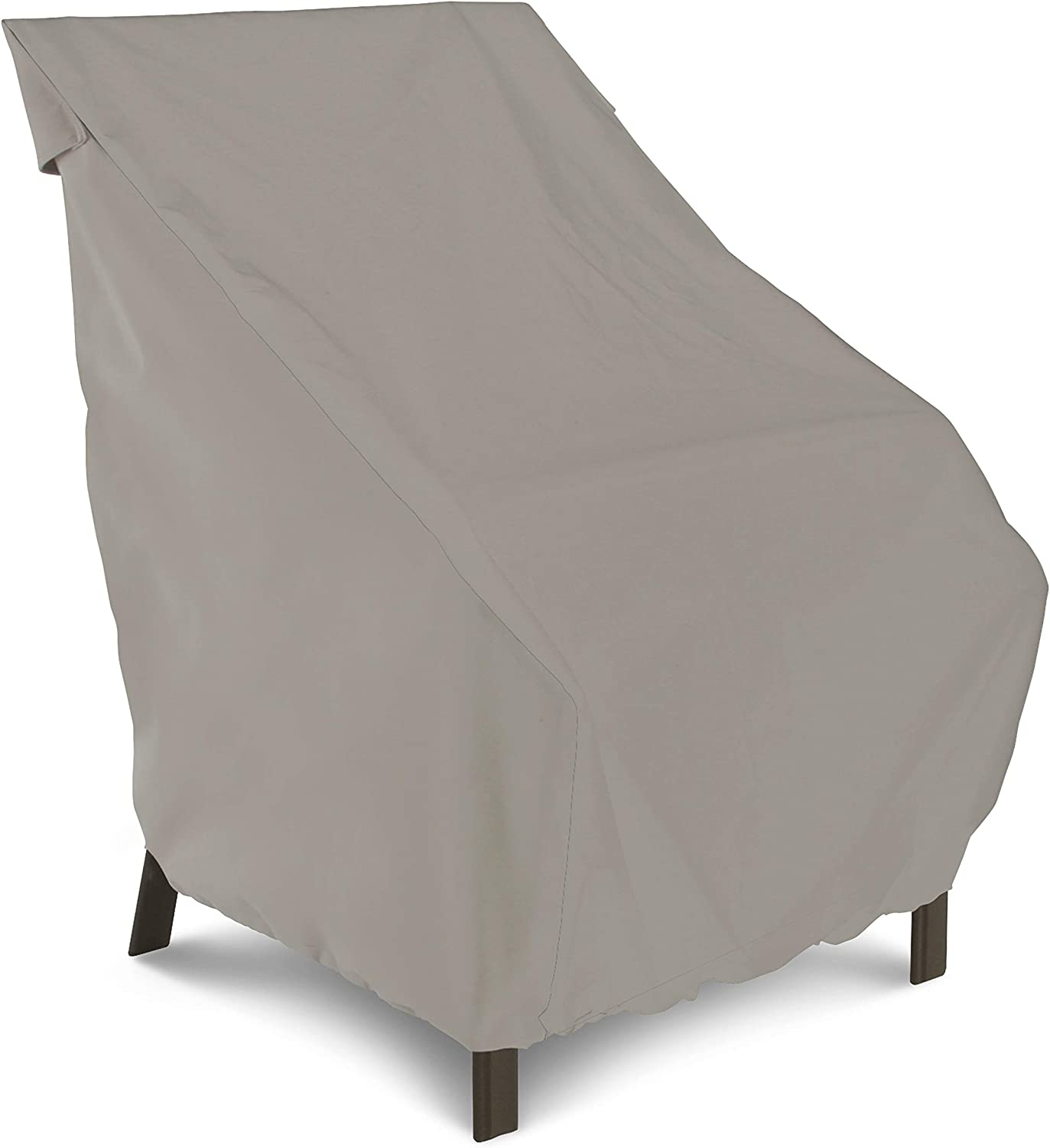 AmazonBasics Patio Dining Chair Cover 2 Pack , Grey
