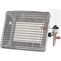 Chauffage à gaz Spot avec sécurité d'allumage 4,2kW Support, Tuyau Réducteur de pression
