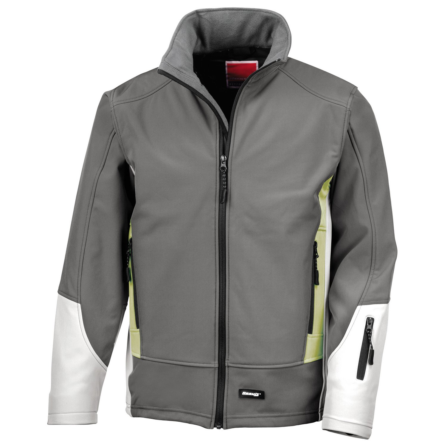 Result Blade 3 layer softshell jacket Charcoal/ Pampas/ Pale Grey S