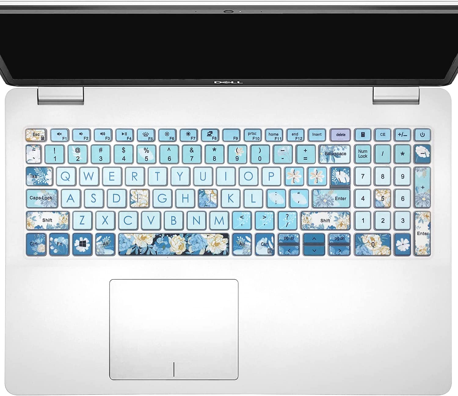 Keyboard Cover Skin for 2021 2020 2019 Dell Inspiron 15 5501 5502 5505 5508 5584 5590 5593 5598 15.6