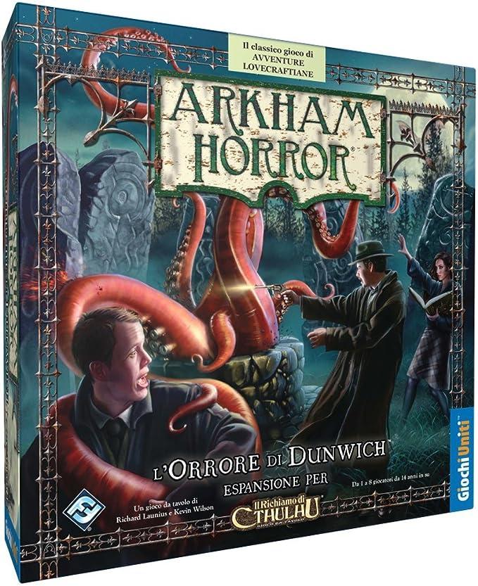 Giochi Uniti GU144 Arkham Horror: LOrrore di Dunwich: Amazon.es: Juguetes y juegos