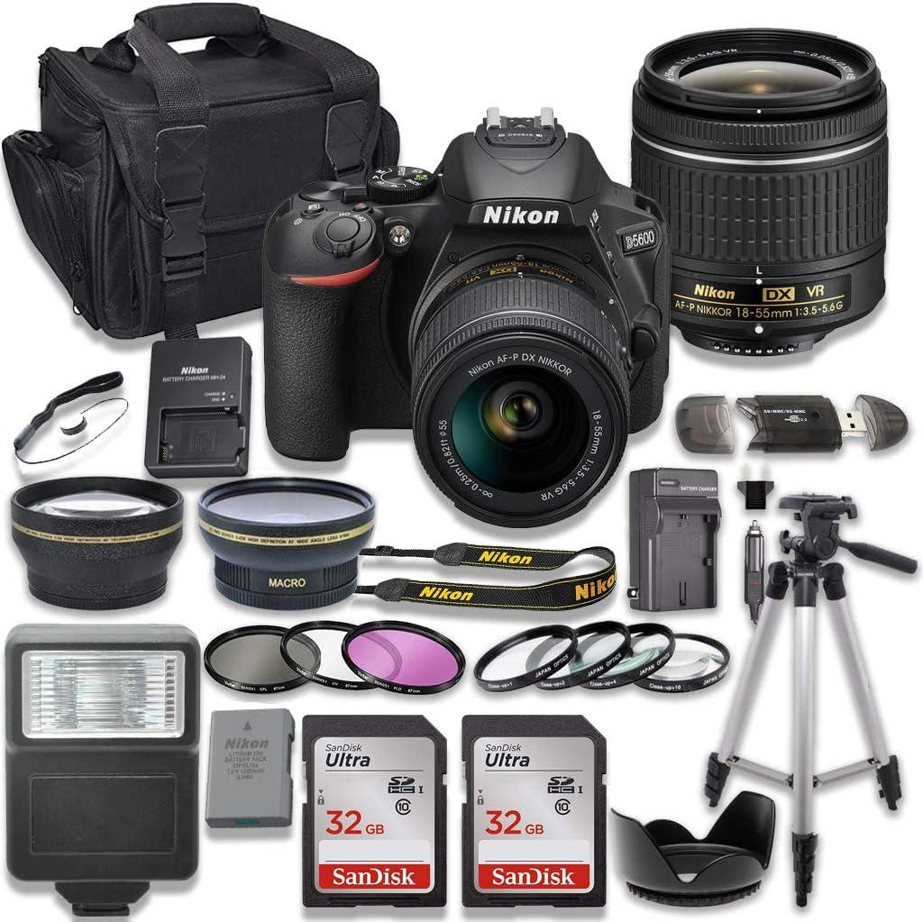 Nikon D5600 - Cámara réflex Digital con Lente de Realidad Virtual ...
