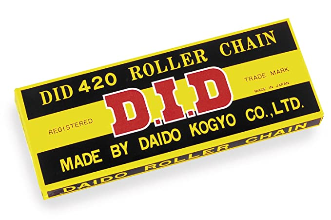RK Chains 420 x 104 Links Standard Series  Non Oring Natural Drive Chain