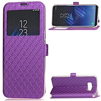 coque samsung s8 ultra mince violet