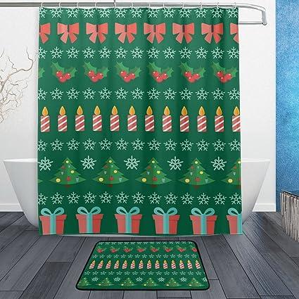 Amazon La Random Happy New Year And Merry Christmas Bathroom