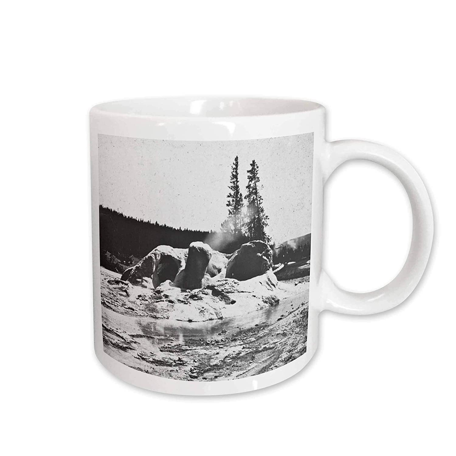 Buy 3drose Vintage Yellowstone National Park Geysers Victor Animatograph Co 10 Ceramic Mug 15 Ounce Online At Low Prices In India Amazon In