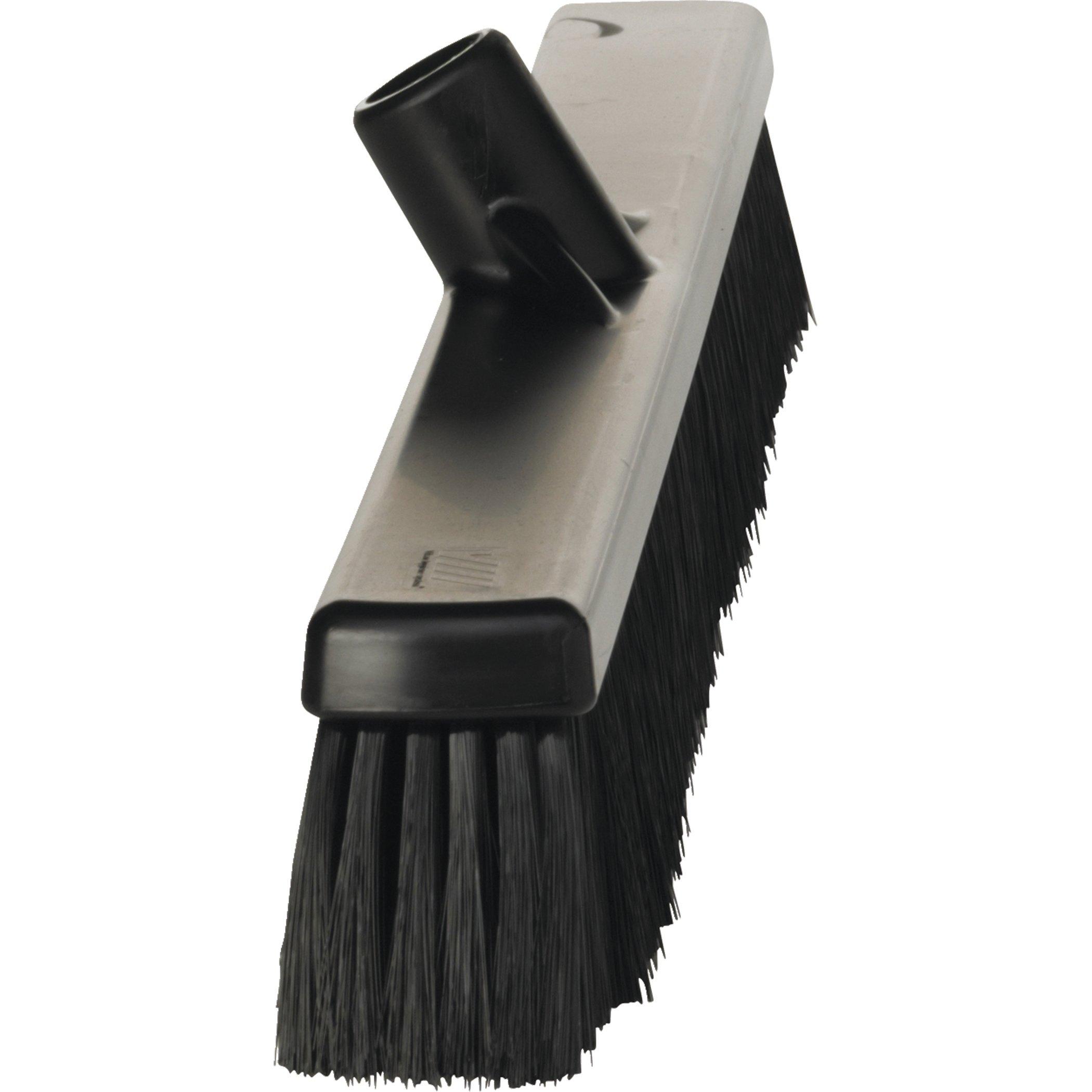 VIKAN Black Push Broom by Vikan