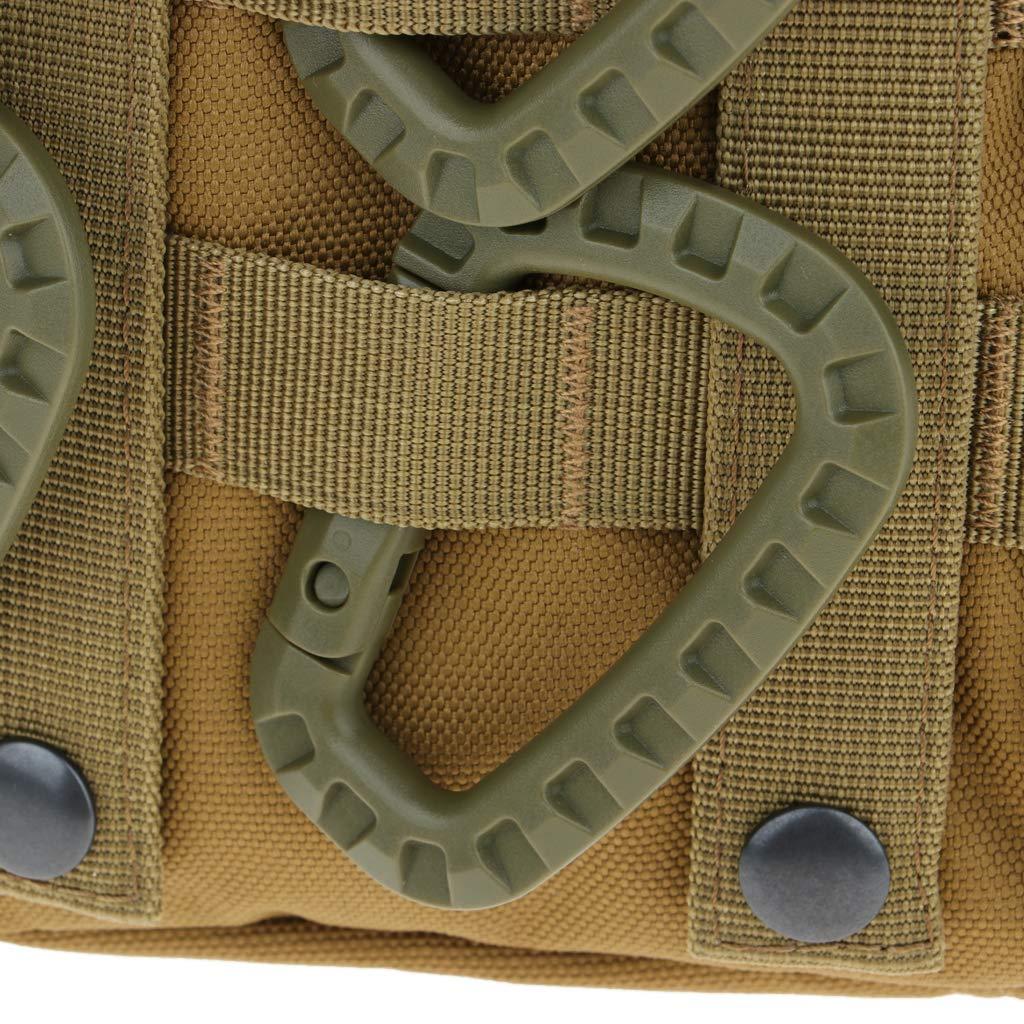 P Prettyia 6pcs Mousqueton Boucle pour Sac /à Dos Multifonction Camping Accessoire Bouteille