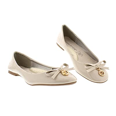 Fedora Patent Leather Shoes for Women, Pointed Toe Flats, Womens Office Work Shoes | Flats