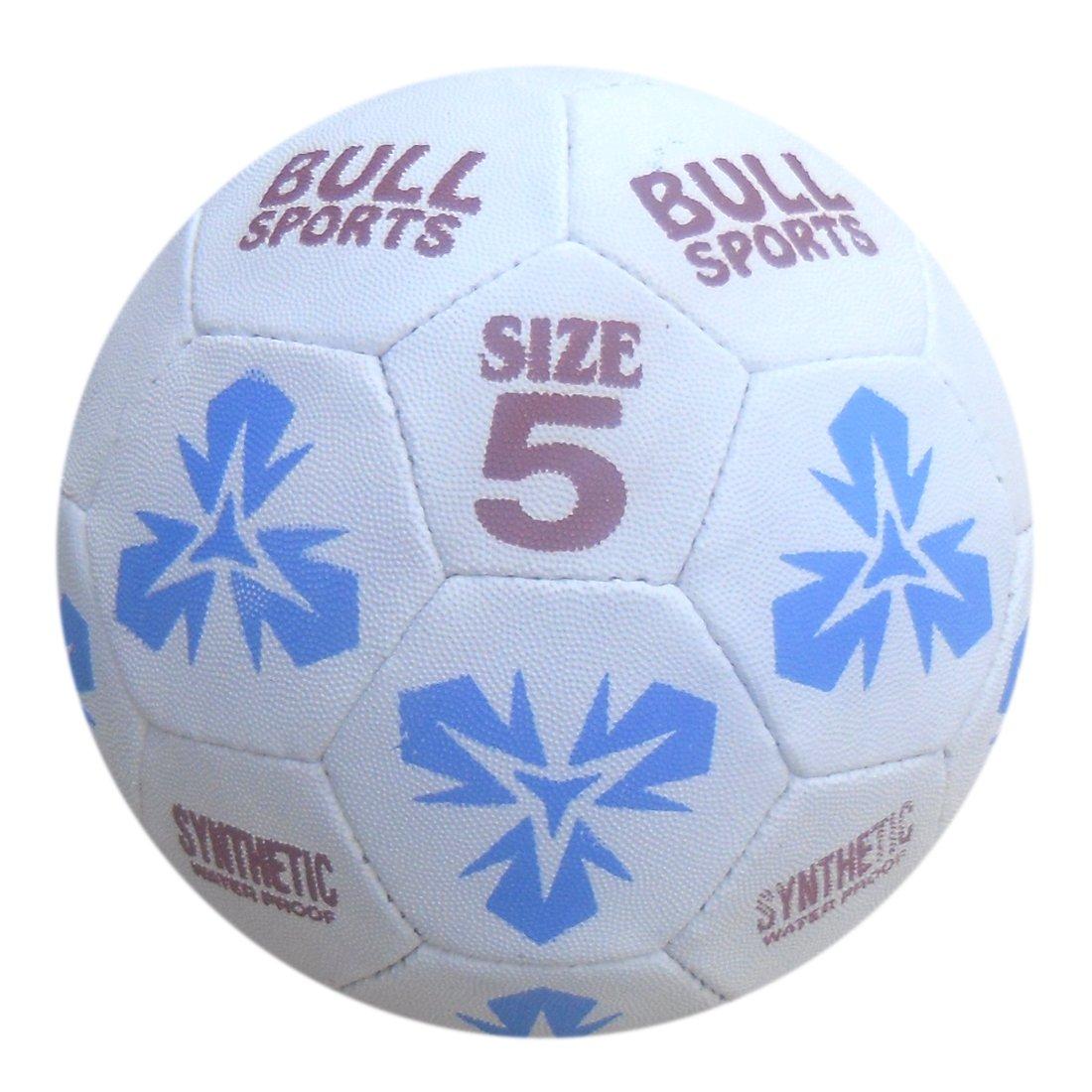 Bull Sports Rubber Football ( SIZE 5 )