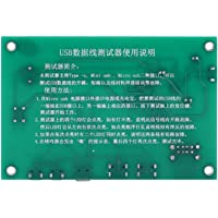 Cable Test Card, Multi-Level Protection USB Cable Triad Tester for Open Circuit Short-Circuit