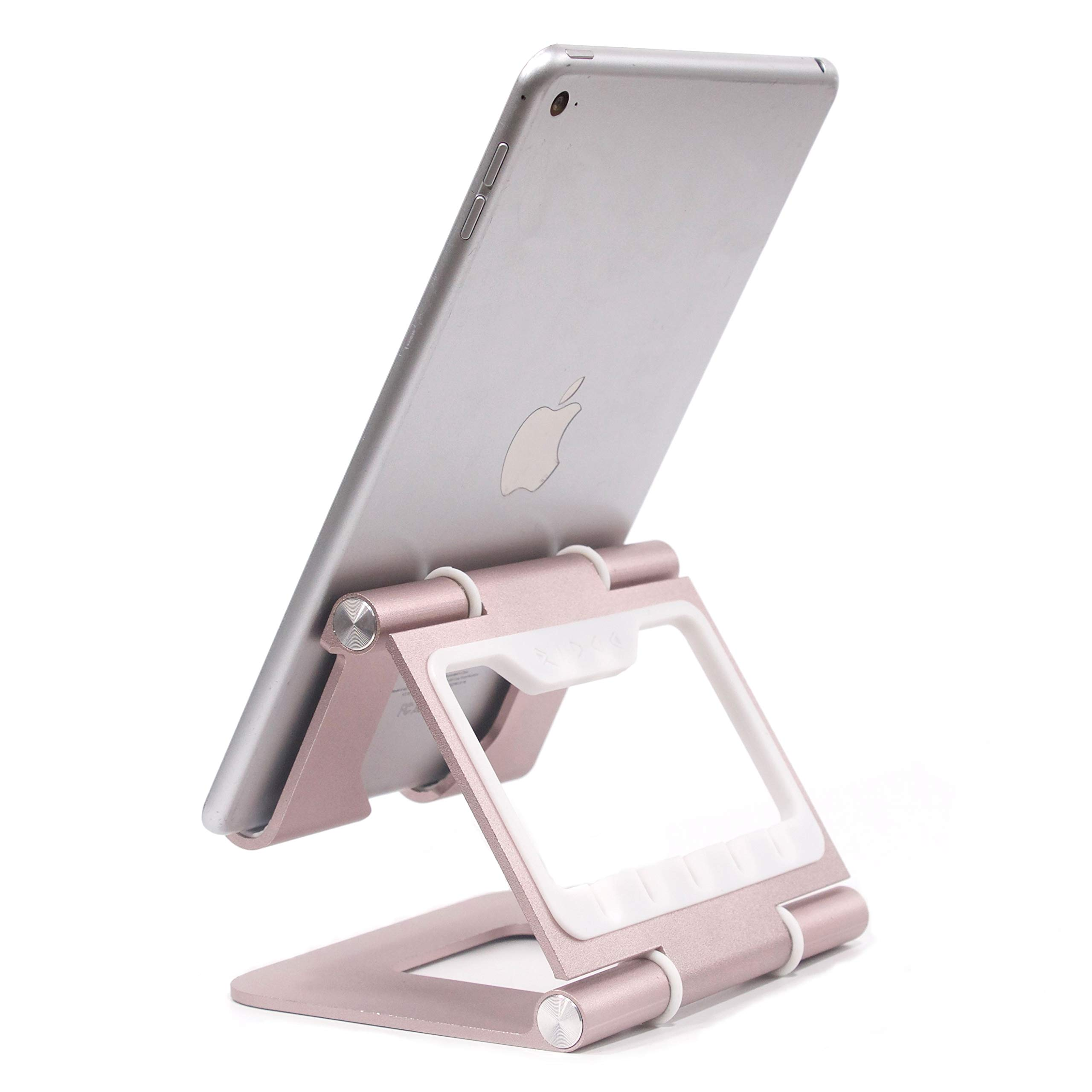 The Ridge Stand Plus - Portable Adjustable Tablet/Cell Phone Stand for iPad Pro, Kindle E-Reader, Ergonomic Aluminum Cooling Stand for Desk, Vertical Holder for iPad Air, Samsung Galaxy Note 10.1