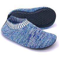 Dream Bridge Calcetines Antideslizantes para niños, Zapatillas de Punto Antideslizantes para niños, niñas, Calcetines…