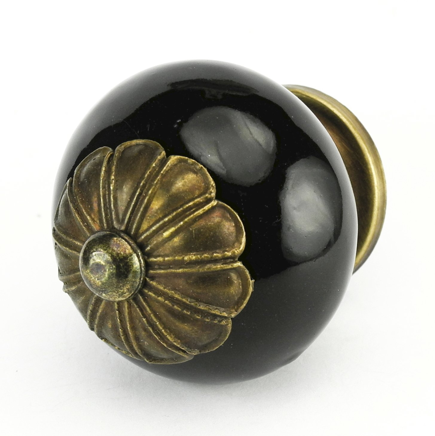 black ceramic cabinet knobs drawer pulls u0026 handles set2pc c56ff kitchen drawer pulls and handles hand glazed ceramic knobs with antique brass