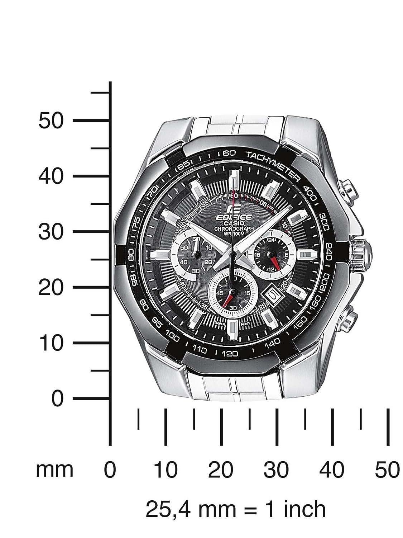 b5214eff7a05 Edifice Herren Armbanduhr EF-540D-1AVEF  Amazon.de  Uhren