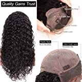 Brazilian Deep Wave Human Hair Lace Front Wigs with