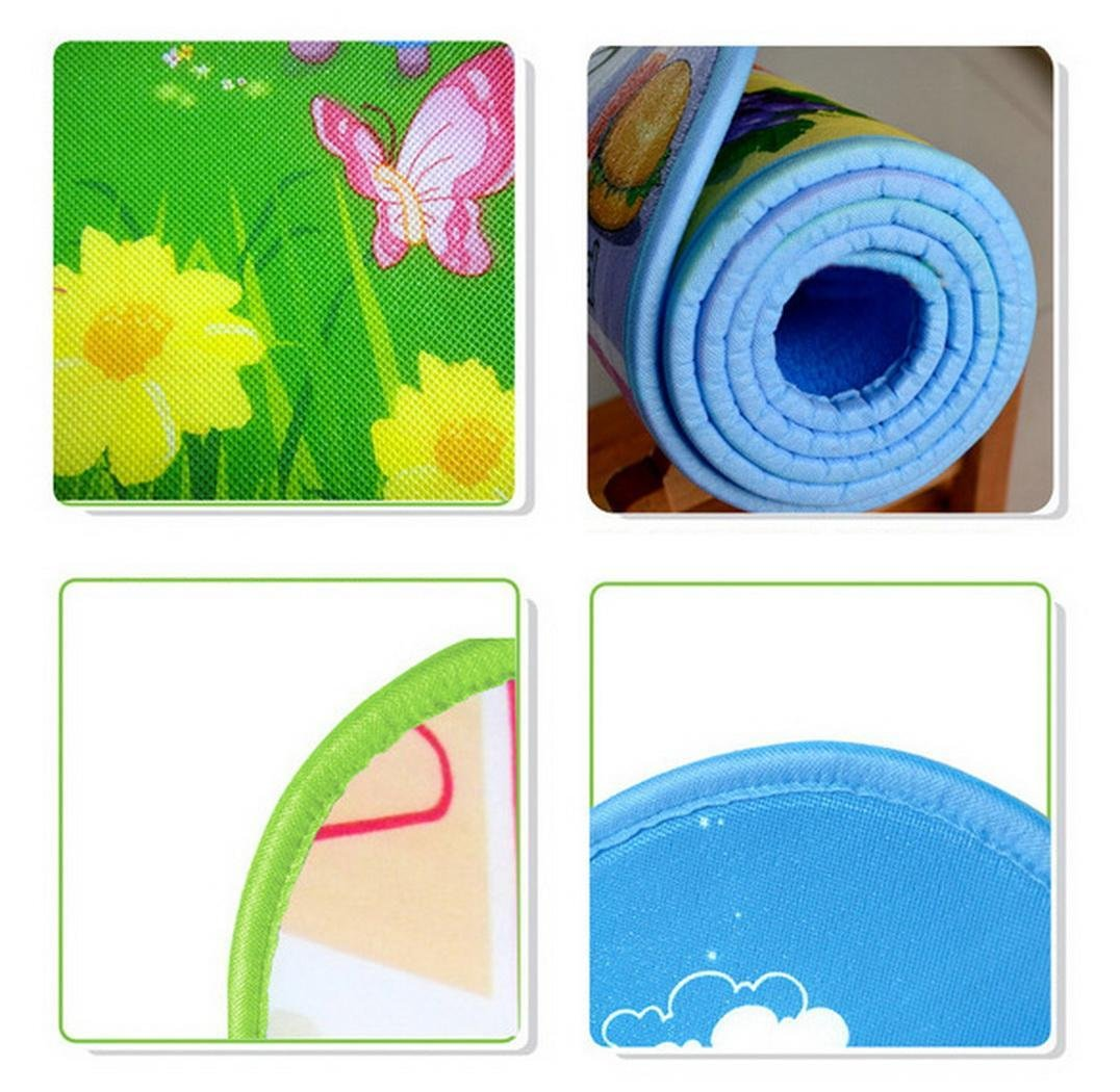 Baby Playing Mat Ocean Animal Crawling Floor Pad with Carring Bag [US Stock] (2) by Rateim (Image #7)
