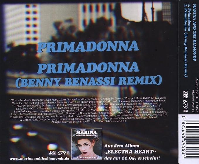 Primadonna 2 Tracks By Marina The Diamonds Amazon Music