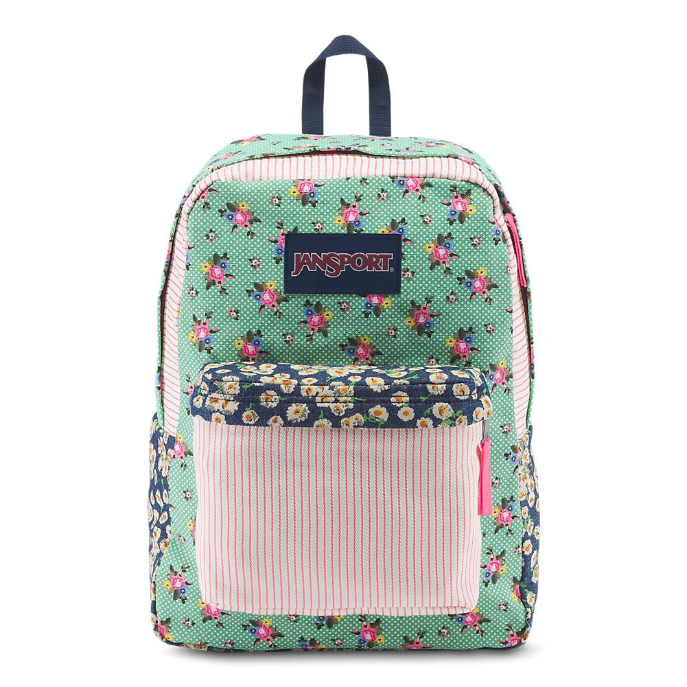 8e93af4fcf9b Galleon - JanSport High Stakes Backpack - Dizzy Patchwork