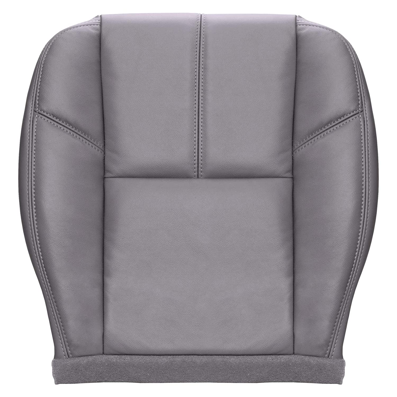2010 Chevy Silverado 1500 LT LS Crew Cab Driver Bottom Leather Seat Cover Black
