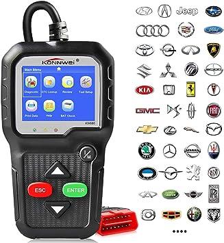 KW680 OBD2 OBDII CAN Diagnostic Scanner Car Engine Fault Code Reader Scan Tool
