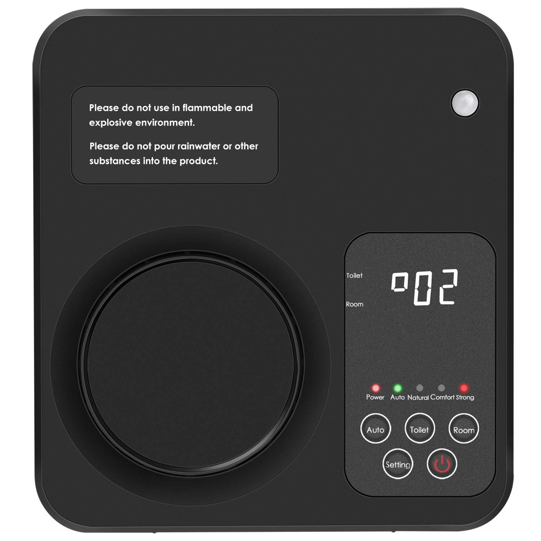 TREKOO Air Purifier Home Air Ionizer Ozone Generator Odor Remover Deodorizer for Bedroom Living Room Restroom Office