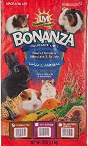 L/M Animal Farms Slm75331 Guinea Pig Bonanza Diet Food, 20-Pound
