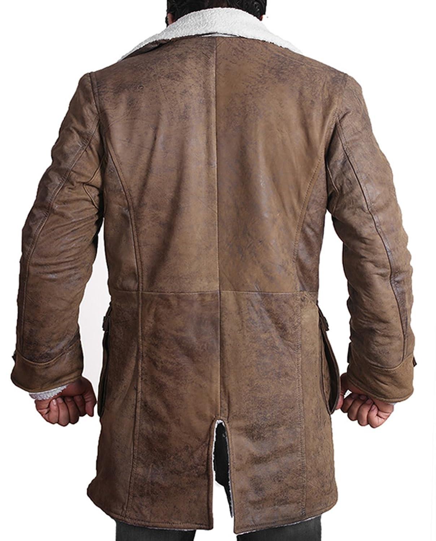 BANE Coat 'Tom Hardy - Dark Knight Rises' Vintage Distressed Look ...