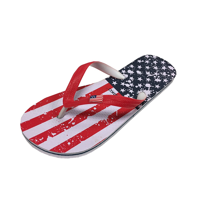 89cf79b6e good Fresko Men s American Flag Thong Flip Flop