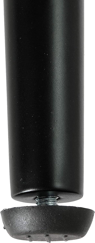 , Wei/ß 4x Natural Goods Berlin Conical Legs Tischbeine konisch 72cm 4mm Grundplatte Esstisch//Schreibtisch pulverbeschichtete Stahlbeine h/öhenverstellbarer Bodenschutz integriert DIY  