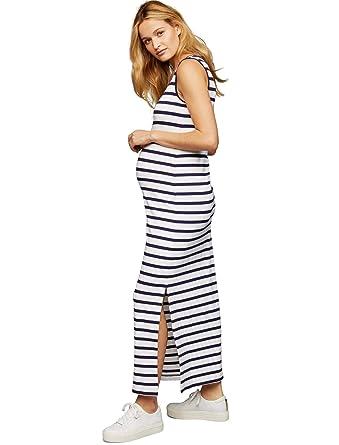 e2d4905a67f20 Pietro Brunelli Striped Maternity Dress at Amazon Women's Clothing store: