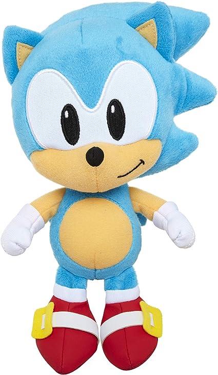 Amazon Com Sonic The Hedgehog 7 Sonic Plush Figure Toys Games