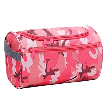 Amazon.com   Toiletry Bag Travel Toiletries Bag Sturdy Hanging Organizer  for Women Men Cosmetic Make up Bag Case (Military Pink)   Beauty 57d8748f36578