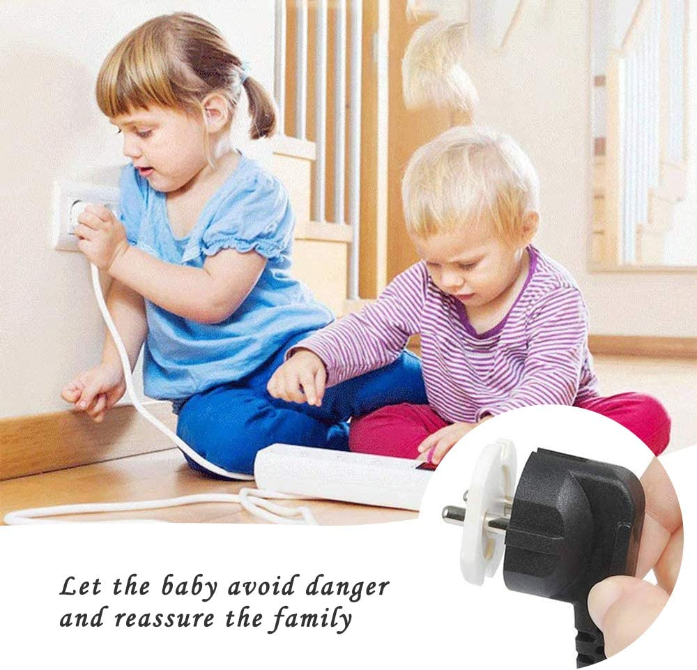 Baby Proofing Plug Covers,Plug Covers Outlet Covers Safety Socket Covers Baby Child Proof Home Safety Socket Protectors Guards 10 PCS