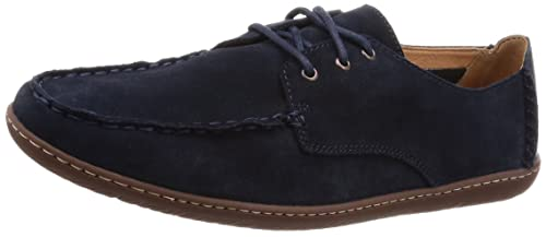 classic shoes select for genuine good Clarks Saltash Lace Suede Shoes in Dark Grey Standard Fit ...