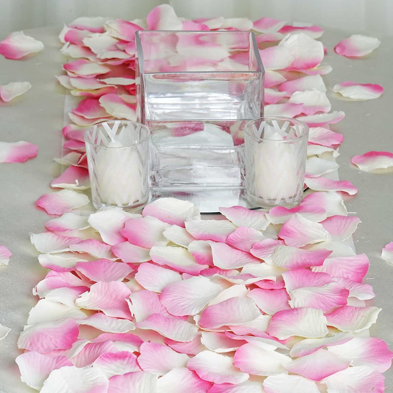 Amazon.com: BalsaCircle 4000 Silk Rose Artificial Petals Supplies ...